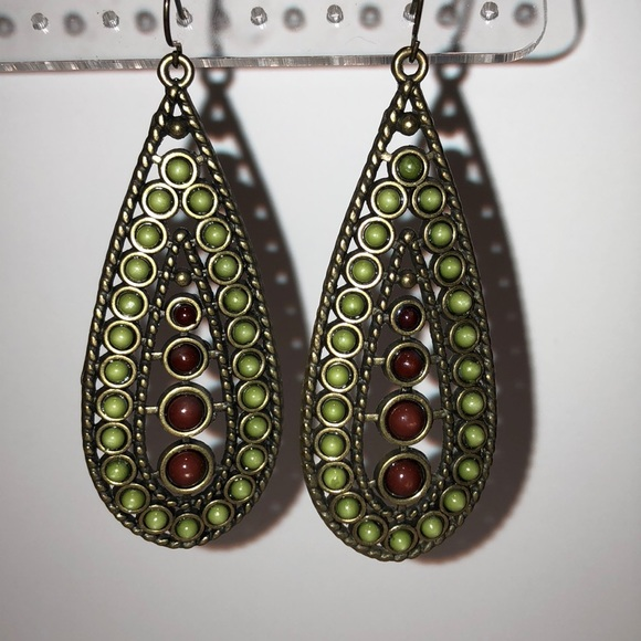 Jewelry - Multi-colored Stone Earrings